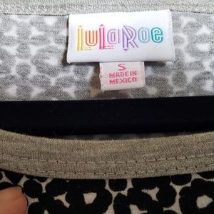 LuLaRoe Dresses - Lularoe Julia Black and White Grey Sleeves